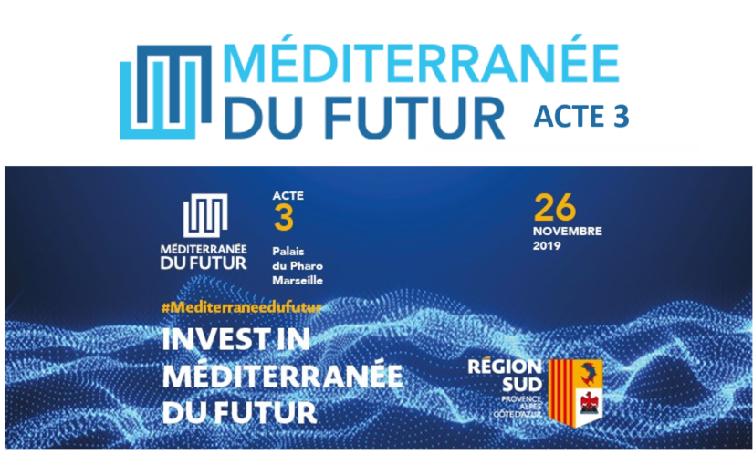 ACT III OF THE MEDITERRANEAN OF THE FUTURE: INVESTMENT
