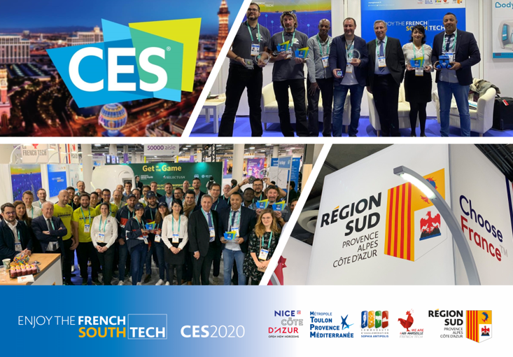 CES: The Sud Region Wows the Crowds with the Largest Delegation of French Start-Ups!