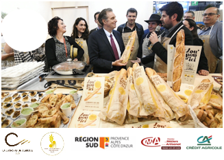 Lou Pan d'Ici: the new baguette from the south is presented at the Salon de l'Agriculture