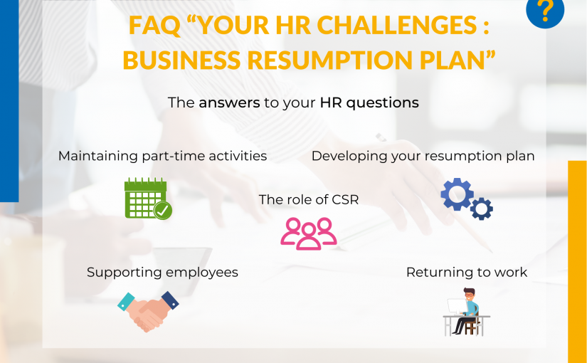 Answers to your HR questions for a business resumption plan