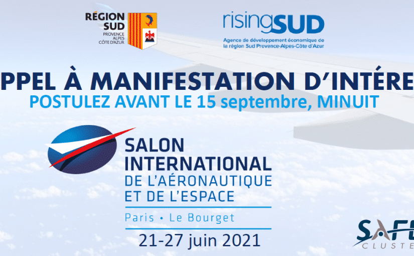 Participez à l'édition 2021 du salon du Bourget !