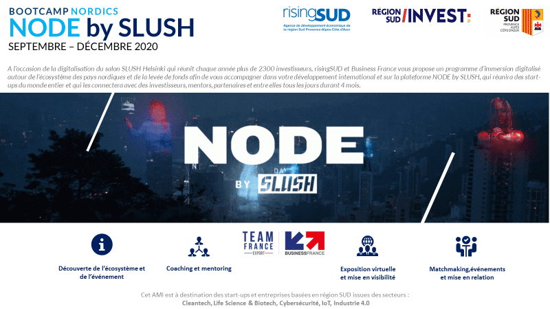 Visuel BOOTCAMP NORDICS NODE by SLUSH