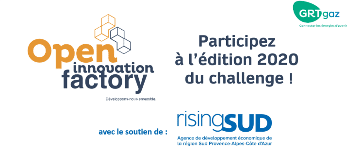 Participez à l'Open Innovation Factory 2020 de GRTgaz !