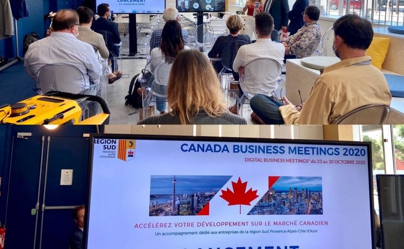 Retour sur le lancement du Canada Business Meetings 2020