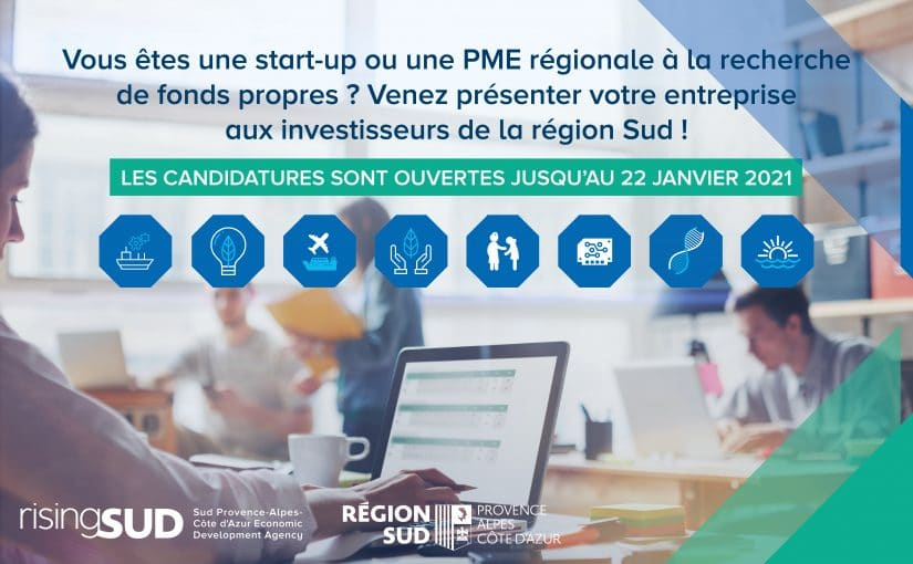 Pitch your company to investors in the Sud region!