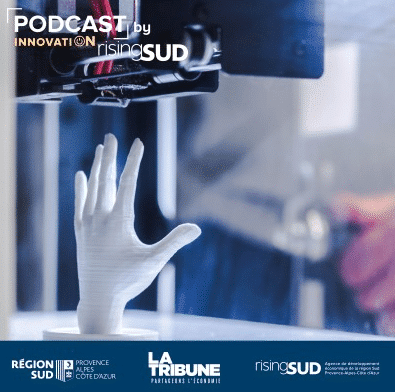 podcast risingsud impression 3D simple innovation ou future revolution