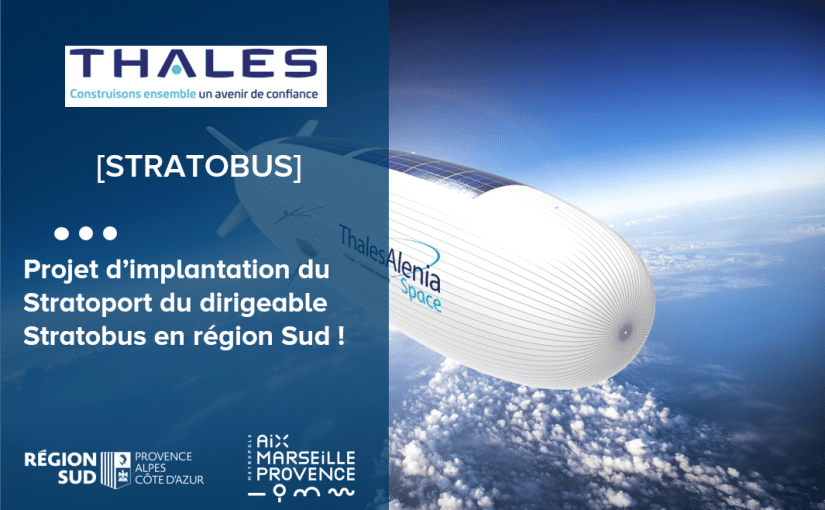 Projet d'implantation du stratoport de Thales Alenia Space en région